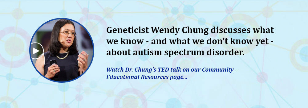 Dr. Wendy Chung's TED talk on autism