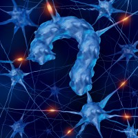 blue neurons question mark