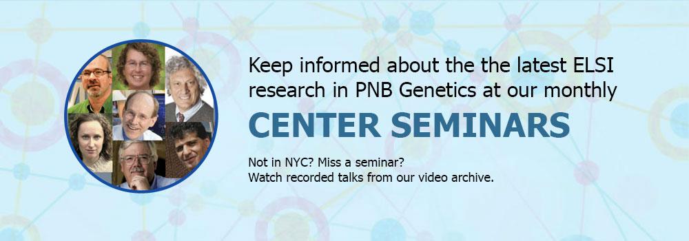 Center Seminars